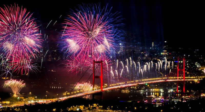 Año nuevo en Turquía